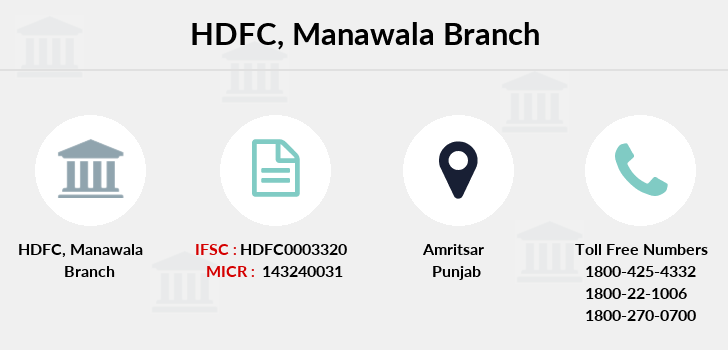 Hdfc-bank Manawala branch