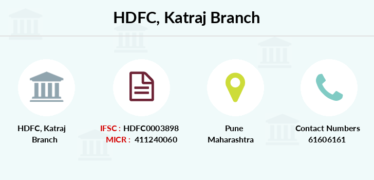 Hdfc-bank Katraj branch