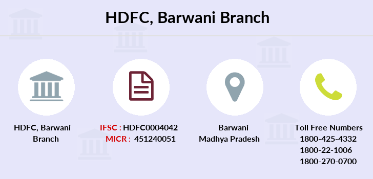 Hdfc-bank Barwani branch