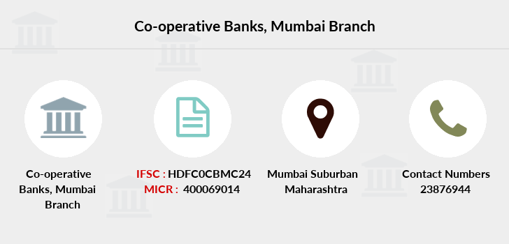 Co-operative-banks Mumbai branch