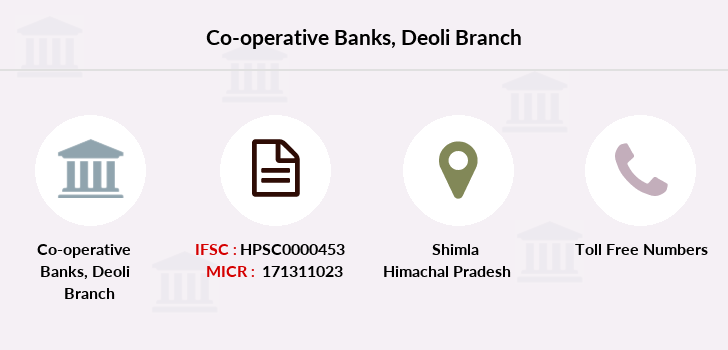 Co-operative-banks Deoli branch