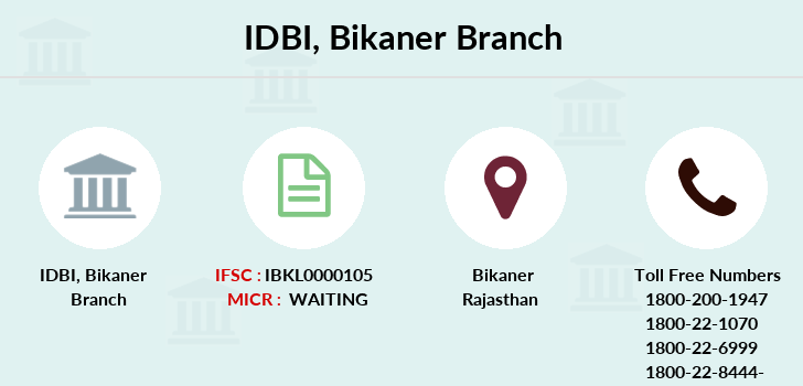 Idbi-bank Bikaner branch
