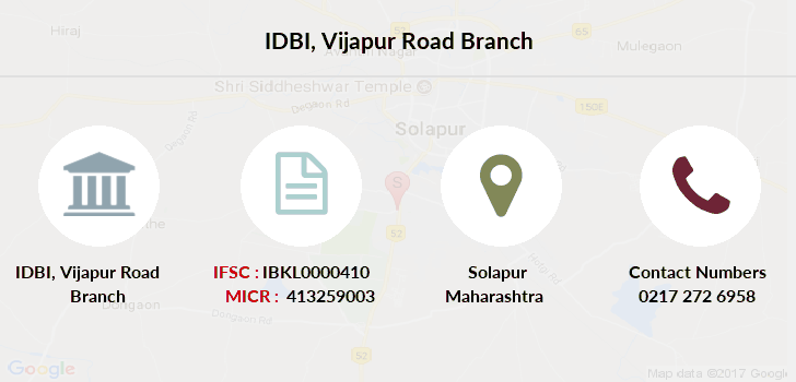 Idbi-bank Vijapur-road branch