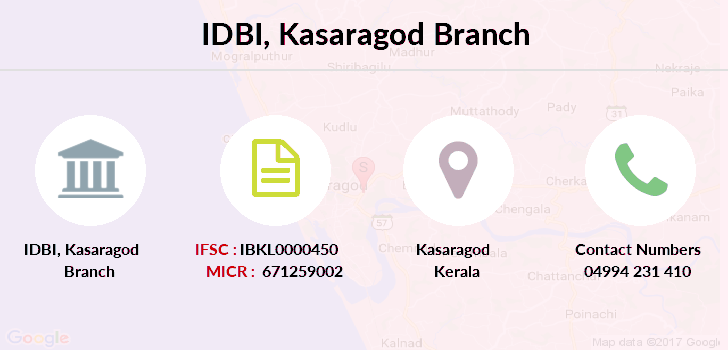 Idbi-bank Kasaragod branch
