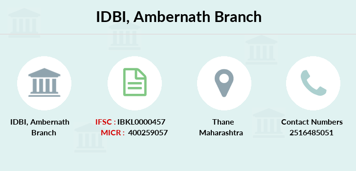 Idbi-bank Ambernath branch