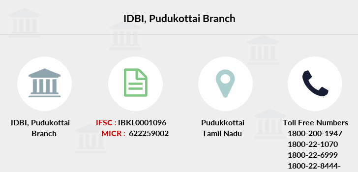 Idbi-bank Pudukottai branch