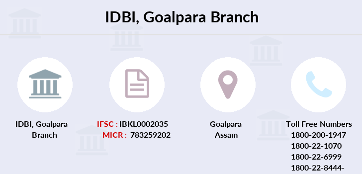 Idbi-bank Goalpara branch