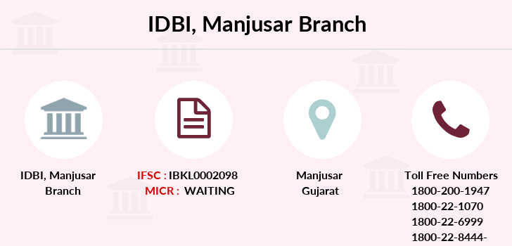 Idbi-bank Manjusar branch