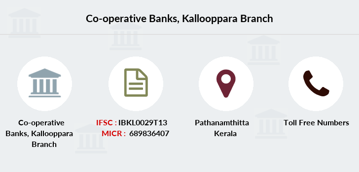 Co-operative-banks Kallooppara branch