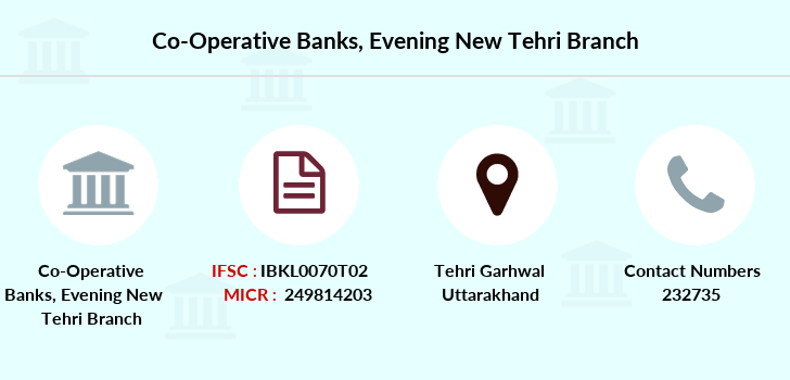 Co-operative-banks Evening-new-tehri branch