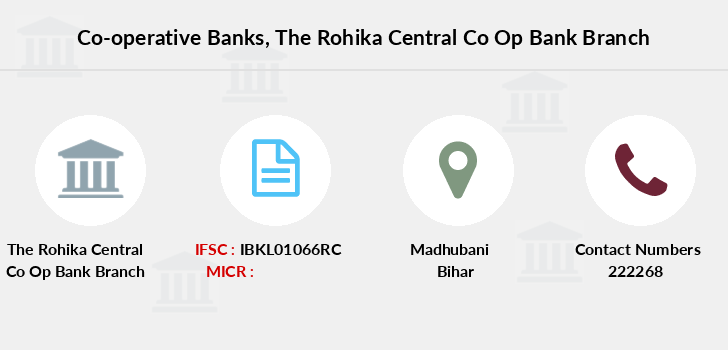 Co-operative-banks The-rohika-central-co-op-bank branch