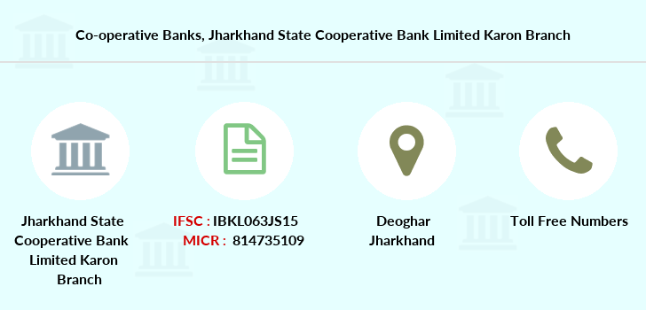 Co-operative-banks Jharkhand-state-cooperative-bank-limited-karon branch