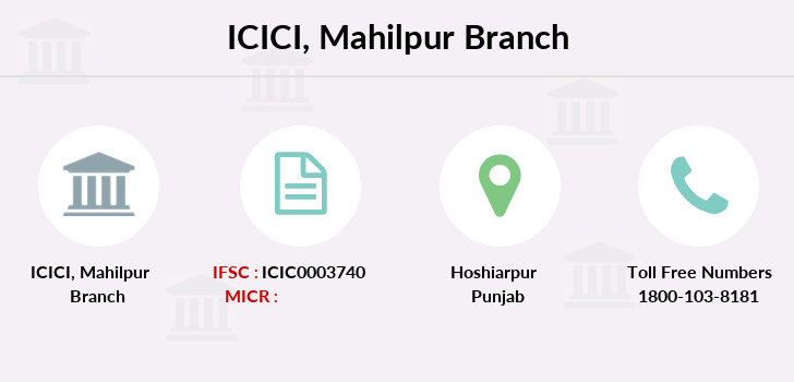 Icici-bank Mahilpur branch