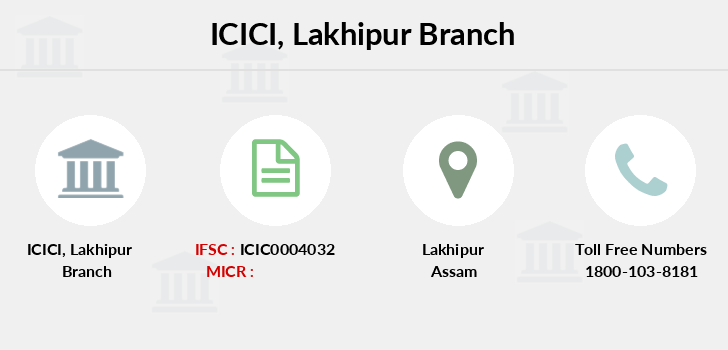 Icici-bank Lakhipur branch