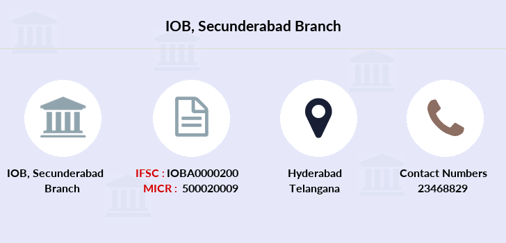 Indian-overseas-bank Secunderabad branch