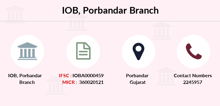 Indian-overseas-bank Porbandar branch