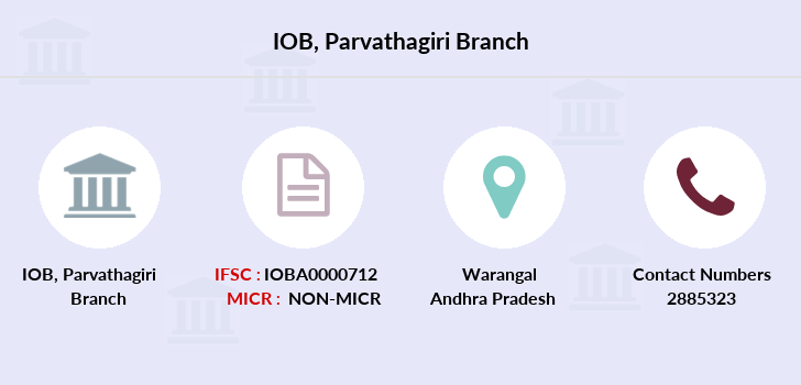 Indian-overseas-bank Parvathagiri branch