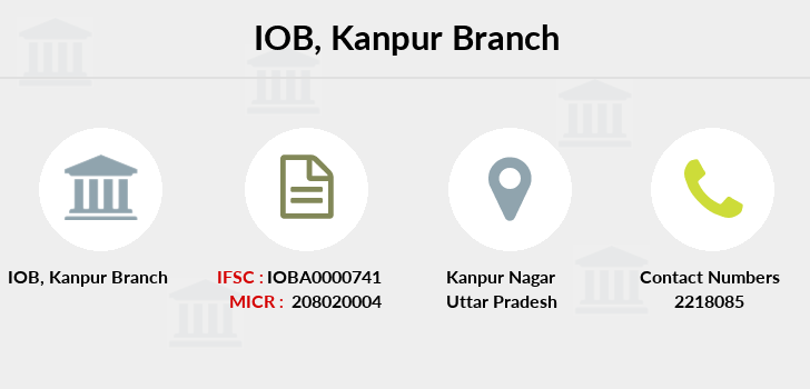 Indian-overseas-bank Kanpur branch