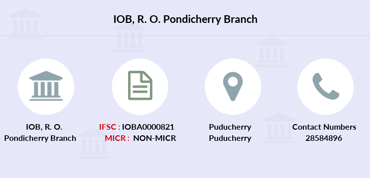 Indian-overseas-bank R-o-pondicherry branch