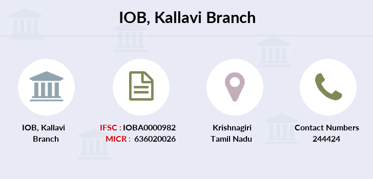 Indian-overseas-bank Kallavi branch