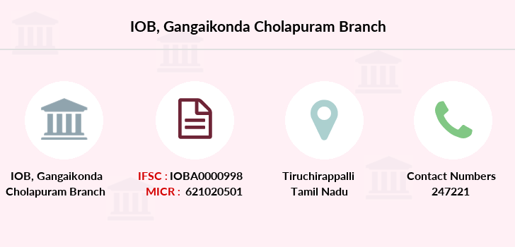 Indian-overseas-bank Gangaikonda-cholapuram branch