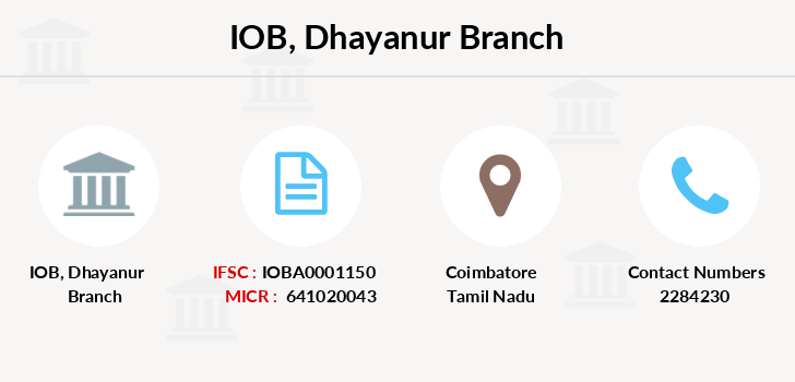 Indian-overseas-bank Dhayanur branch