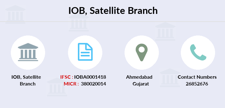 Indian-overseas-bank Satellite branch