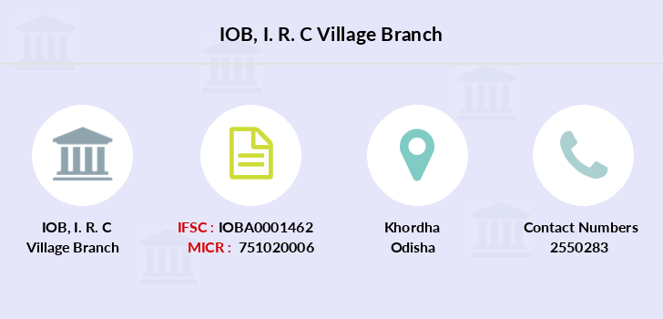 Indian-overseas-bank I-r-c-village branch