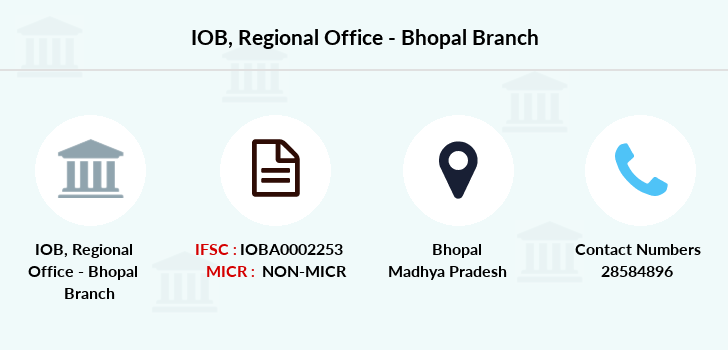 Indian-overseas-bank Regional-office-bhopal branch