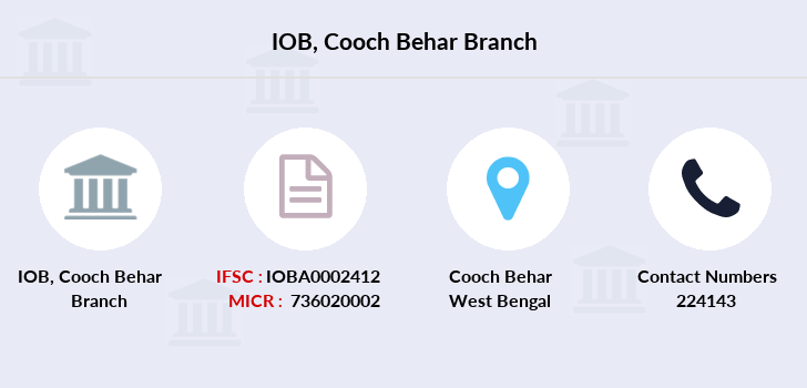 Indian-overseas-bank Cooch-behar branch