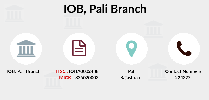 Indian-overseas-bank Pali branch