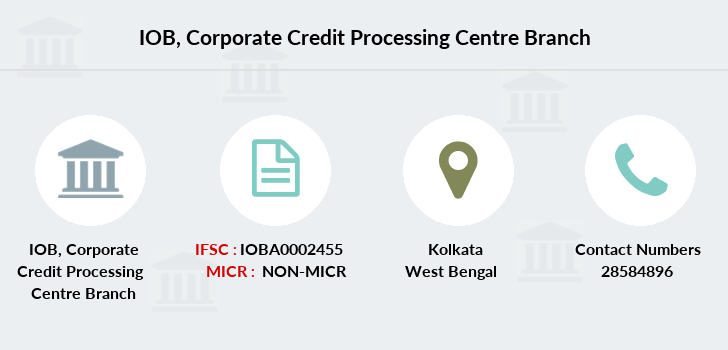Indian-overseas-bank Corporate-credit-processing-centre branch