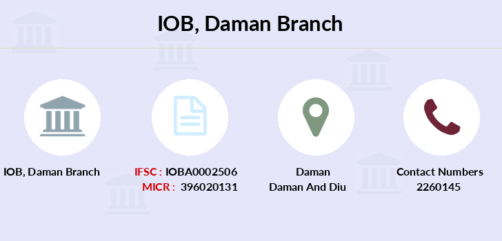 Indian-overseas-bank Daman branch