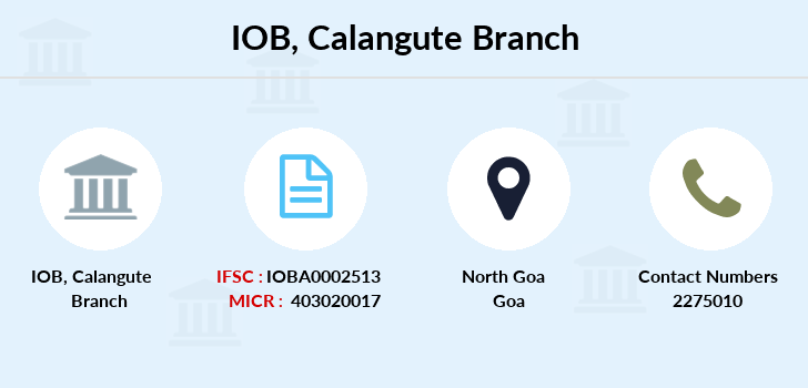 Indian-overseas-bank Calangute branch