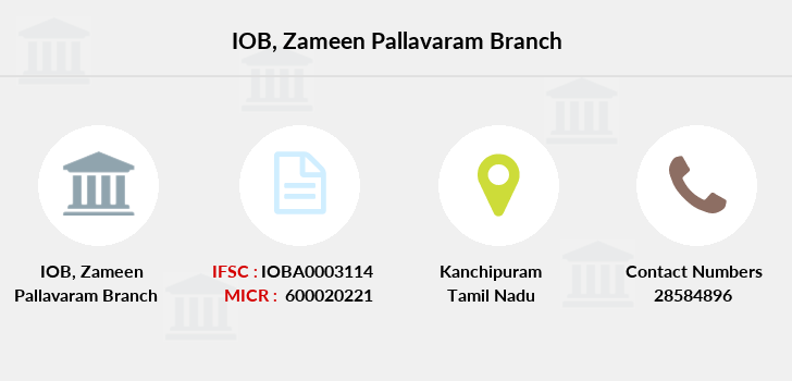 Indian-overseas-bank Zameen-pallavaram branch