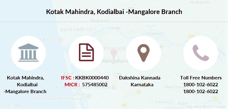 Kotak-mahindra-bank Mangalore branch