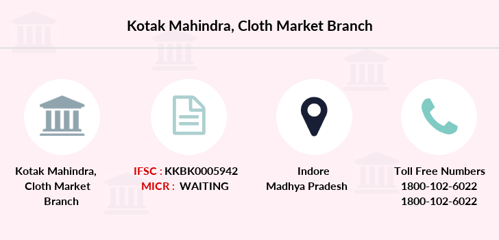 Kotak-mahindra-bank Cloth-market branch