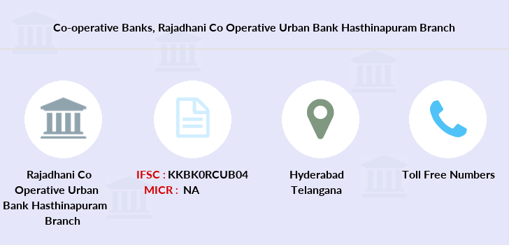 Co-operative-banks Rajadhani-co-operative-urban-bank-limited-hasthinapuram branch