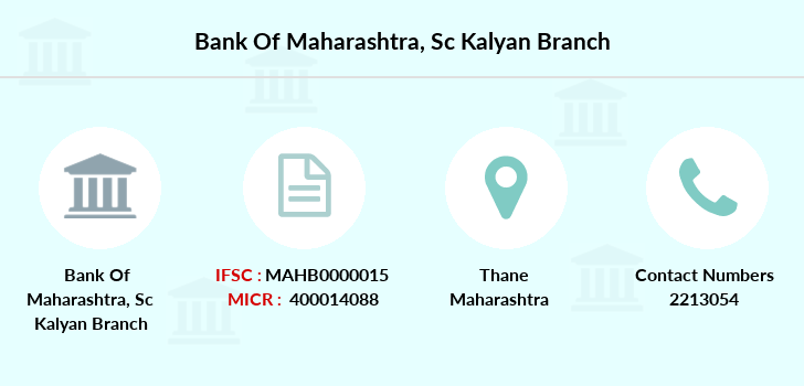 Bank-of-maharashtra Sc-kalyan branch