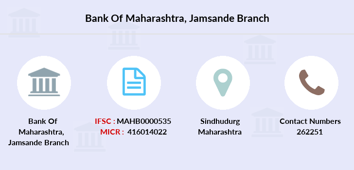 Bank-of-maharashtra Jamsande branch