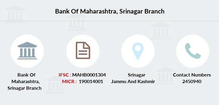Bank-of-maharashtra Srinagar branch