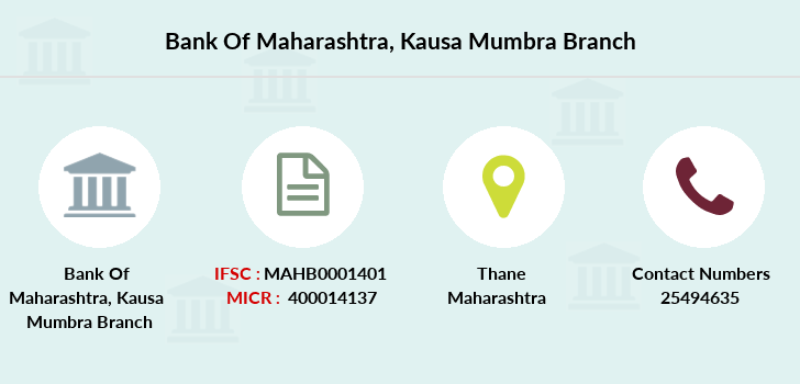 Bank-of-maharashtra Kausa-mumbra branch