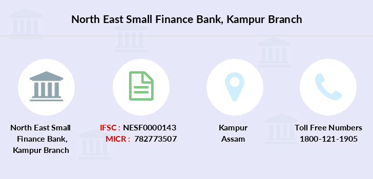 North-east-small-finance-bank Kampur branch