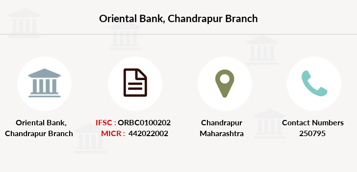 Oriental-bank-of-commerce Chandrapur branch