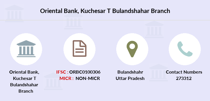 Oriental-bank-of-commerce Kuchesar-district-bulandshahar branch
