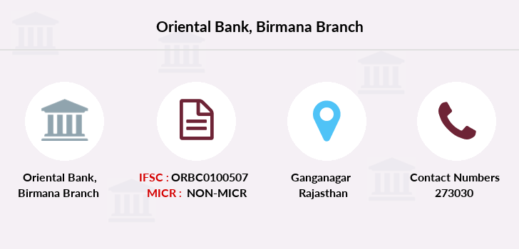 Oriental-bank-of-commerce Birmana branch