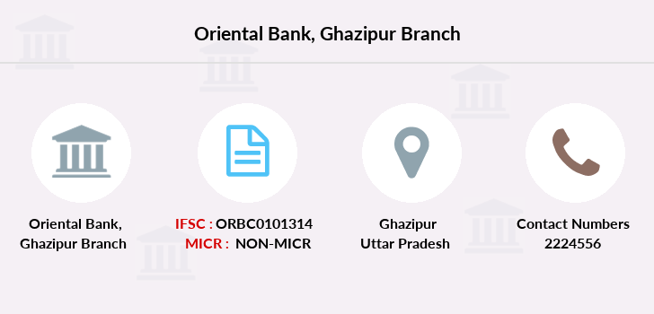 Oriental-bank-of-commerce Ghazipur branch