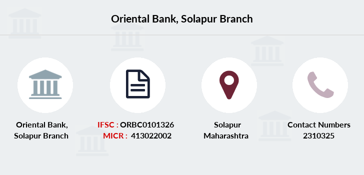 Oriental-bank-of-commerce Solapur branch