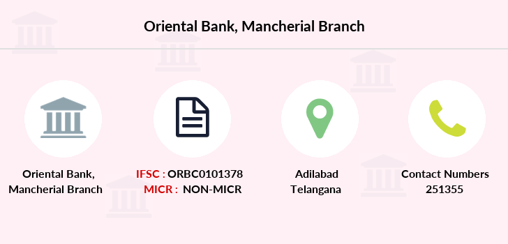Oriental-bank-of-commerce Mancherial branch