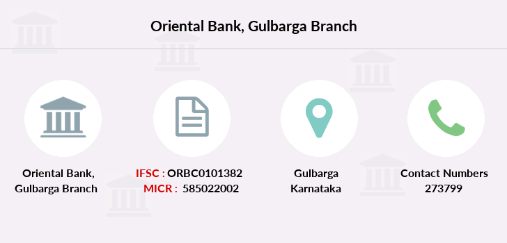 Oriental-bank-of-commerce Gulbarga branch